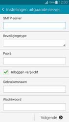 Samsung G850F Galaxy Alpha - E-mail - Account instellen (IMAP zonder SMTP-verificatie) - Stap 12
