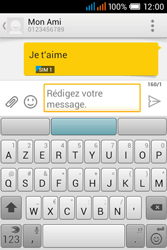 Alcatel OT-4015X Pop C1 - Contact, Appels, SMS/MMS - Envoyer un SMS - Étape 11