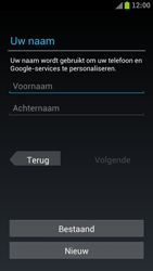Samsung I9305 Galaxy S III LTE - Applicaties - Account aanmaken - Stap 5