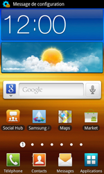 Samsung I9070 Galaxy S Advance - Internet - configuration automatique - Étape 4
