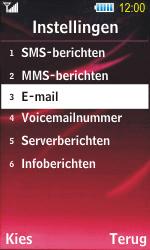 Samsung S7350 Ultra Slide - E-mail - Handmatig instellen - Stap 6