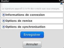BlackBerry 9320 Curve - E-mail - Configuration manuelle - Étape 14