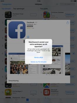 Apple iPad Mini 4 - Applicaties - Account aanmaken - Stap 23