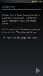 HTC One - Apps - Konto anlegen und einrichten - 23 / 25