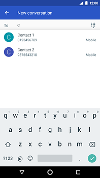 Nokia 6 (2018) - MMS - Sending pictures - Step 5
