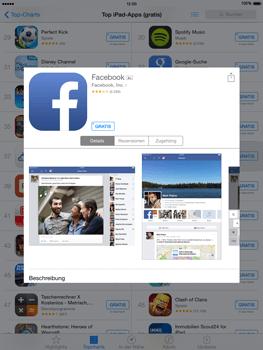 Apple iPad Air iOS 8 - Apps - Einrichten des App Stores - Schritt 6