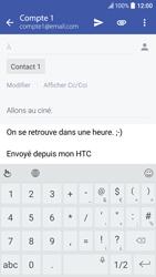 HTC 10 - E-mails - Envoyer un e-mail - Étape 10