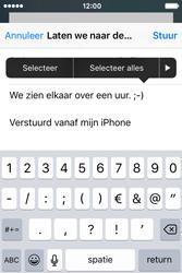 Apple iPhone 4S iOS 9 - E-mail - hoe te versturen - Stap 9