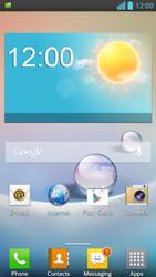 LG D505 Optimus F6 - Internet - Automatic configuration - Step 3