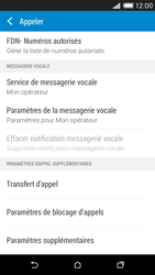HTC Desire 816 - Messagerie vocale - configuration manuelle - Étape 6
