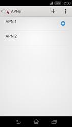 Sony D2203 Xperia E3 - MMS - Manual configuration - Step 16