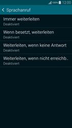 Samsung Galaxy Alpha - Anrufe - Rufumleitungen setzen und löschen - 8 / 11