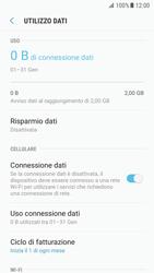 Samsung Galaxy S7 - Android N - Internet e roaming dati - Come verificare se la connessione dati è abilitata - Fase 7