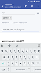 HTC U Play - E-mail - Bericht met attachment versturen - Stap 9