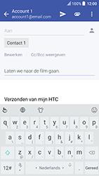 HTC U Play - e-mail - hoe te versturen - stap 9