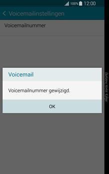 Samsung Galaxy Note Edge - voicemail - handmatig instellen - stap 11
