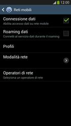 Samsung Galaxy S 4 Active - Internet e roaming dati - Disattivazione del roaming dati - Fase 7