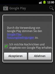 Samsung Galaxy Pocket - Apps - Einrichten des App Stores - Schritt 17