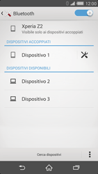 Sony Xperia Z2 - Bluetooth - Collegamento dei dispositivi - Fase 8