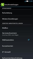 Alcatel OT-6034 Idol S - Anrufe - Rufumleitungen setzen und löschen - Schritt 6