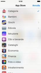 Apple iPhone 5c - Applicazioni - installazione delle applicazioni - Fase 6