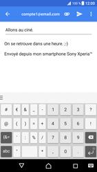 Sony Xperia XZ Premium - E-mail - envoyer un e-mail - Étape 9