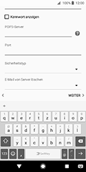 Sony Xperia XZ2 Compact - E-Mail - Konto einrichten - Schritt 12