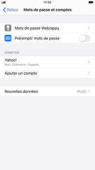 Apple iPhone 6s Plus - iOS 13 - E-mail - Configurer l