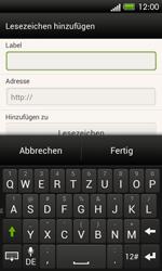 HTC One SV - Internet und Datenroaming - Verwenden des Internets - Schritt 12