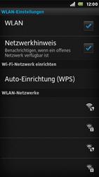 Sony Xperia U - WLAN - Manuelle Konfiguration - Schritt 7
