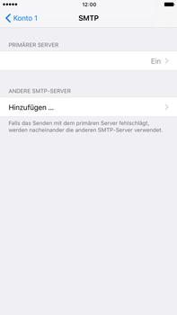 Apple iPhone 6s Plus - E-Mail - Konto einrichten - 2 / 2