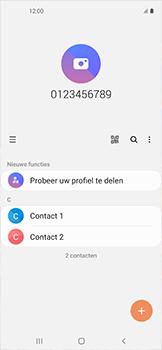 Samsung galaxy-xcover-pro-sm-g715fn - Contacten en data - Contacten kopiëren van SIM naar toestel - Stap 4