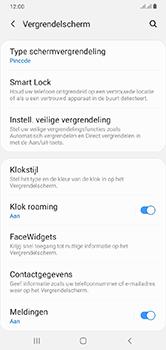 Samsung Galaxy A10 - Beveiliging - stel in of wijzig pincode voor je toestel - Stap 13