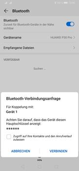Huawei P30 Pro - Bluetooth - Verbinden von Geräten - Schritt 7