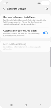 Samsung Galaxy S10 Plus - Software - Installieren von Software-Updates - Schritt 6
