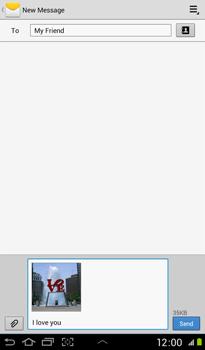 Samsung P3100 Galaxy Tab 2 7-0 - MMS - Sending pictures - Step 12