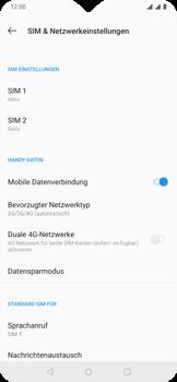 OnePlus 6T - Netzwerk - Netzwerkeinstellungen ändern - 6 / 8