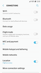 Samsung Galaxy Xcover 4 - Internet - Manual configuration - Step 7