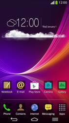 LG D955 G Flex - Applications - Setting up the application store - Step 1