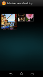 Sony C1905 Xperia M - MMS - Afbeeldingen verzenden - Stap 14