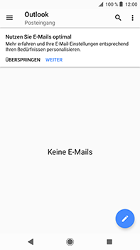 Sony Xperia XZ2 Premium - E-Mail - Konto einrichten (outlook) - Schritt 17