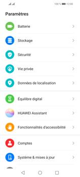 Huawei P Smart 2021 - Sécuriser votre mobile - Personnaliser le code PIN de votre carte SIM - Étape 3