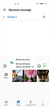 Huawei P40 - Contact, Appels, SMS/MMS - Envoyer un MMS - Étape 15