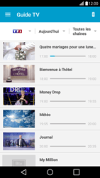 Sony Ericsson Xpéria Arc - Photos, vidéos, musique - Regarder la TV - Étape 5