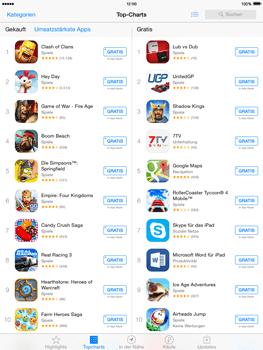 Apple iPad Air iOS 8 - Apps - Installieren von Apps - Schritt 10