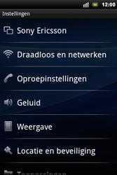Sony Ericsson Xperia Mini Pro - MMS - probleem met ontvangen - Stap 6