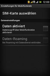 Sony Xperia Tipo Dual - Netzwerk - Netzwerkeinstellungen ändern - Schritt 6