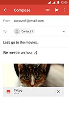 Nokia 3 - Android Oreo - E-mail - Sending emails - Step 15