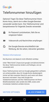 Samsung Galaxy S9 Plus - Apps - Konto anlegen und einrichten - 14 / 21