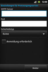 Sony Xperia Go - E-Mail - Konto einrichten - Schritt 10